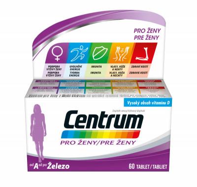 Multivitamin Centrum pro ženy 60tbl