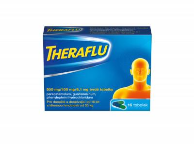 Theraflu 500mg/100mg /6,1 mg 16 tobolek