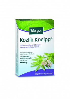 KNEIPP Kozlík 500mg, potahované tablety, 90 ks