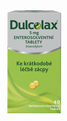 DULCOLAX®  5 mg enterosolventní tablety 40 ks
