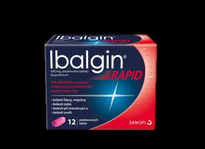 Ibalgin Rapid 400mg tbl.flm.12 I