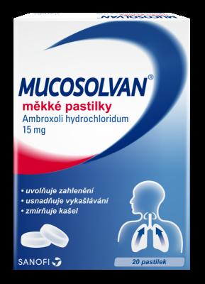 Mucosolvan 15mg pas.mol. 20