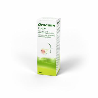 Orocalm 1.5mg/ml orální sprej 1x30ml