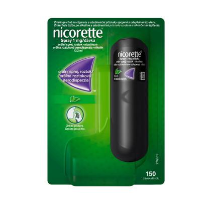 Nicorette® Spray 1mg/dávka, orální sprej, roztok pro odvykání kouření