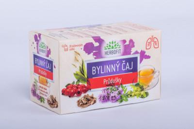Herbofit čaj bylinný průduškový Galmed 20x1,5g