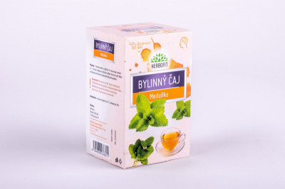 Herbofit Bylinný čaj Meduňka Galmed 20x1.5g