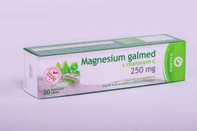 Magnesium 250mg Galmed eff tbl.20