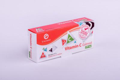 Vitamin C 250mg Galmed tbl 30