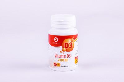 Vitamín D3 2000 IU Galmed cps. 90