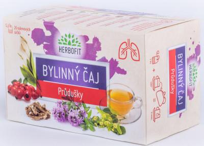 Herbofit čaj bylinný průduškový Galmed 20 sáčků