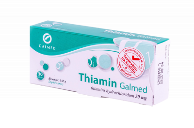 Thiamin Galmed 50mg 30 tablet
