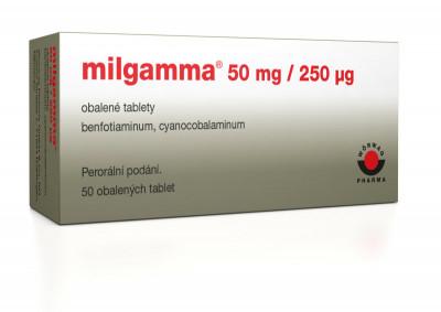 milgamma 50 obalených tablet