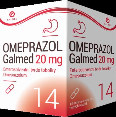 Omeprazol Galmed 20 mg 14 tobolek