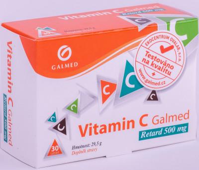 Vitamin C Retard 500mg Galmed 30 tablet
