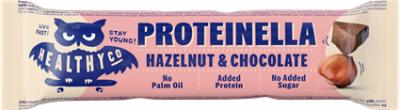 HealthyCo Proteinella bar 35 g čokoláda a lískový oříšek