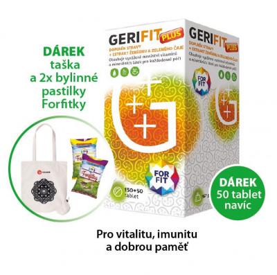 Galmed Gerifit  150+50 tablet + taška + Forfitky