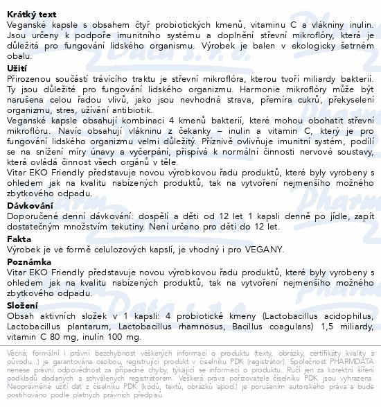 Vitar Probiotika EKO cps.30
