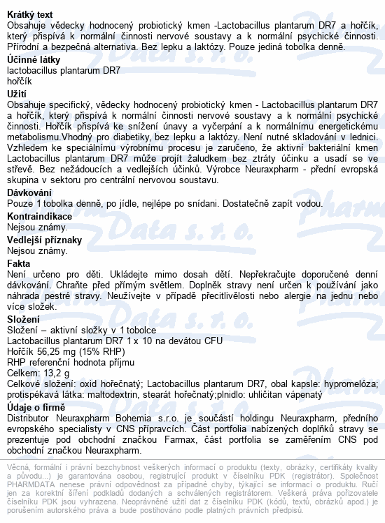 NeuraxBiotic Zen tob.30