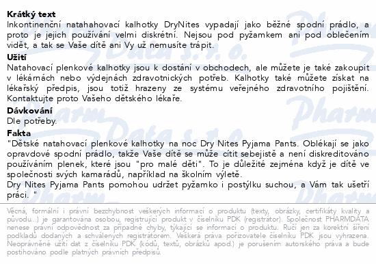 DryNites kalh.abs. pro chlapce 4-7let/17-30kg/10ks